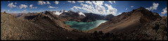Alakol Lake I (doug k of sky) Tags: panorama lake landscape doug tian panoramic valley shan kyrgyzstan tien karakol alakol mountainscapes kofsky alakjol
