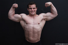 Blake_O_PumpingMuscle.com-6 (davidjdowning) Tags: men muscles muscle muscular bodybuilding buff bodybuilder biceps