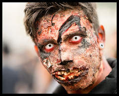 Bad Skin (k.jessen) Tags: brazil brasil blood saopaulo zombie sopaulo brains sangue zumbi zombiewalk zombiewalksp miolos zombiewalksp2014