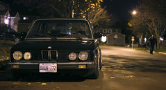 e28 night 50mm (rostkowski.ryan) Tags: auto autumn toronto ontario canada black fall classic cars car canon rebel 50mm leaf gangster low automotive stretch clean whitby bmw static 905 notagame epsilon yyz classy slammed stance coilovers camber 5series bossman 416 e28 535i 3piece fitment inline6 t2i classicbmw stanceworks shoot2kill stancenation scrapedcrusaders stancebmw 3piececlique hardsparker