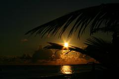 St Martin Sunrise (pandt) Tags: ocean beach st sailboat sunrise sailing martin orient