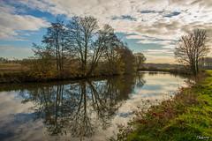 Ballade des reflets (musette thierry) Tags: nature nikon eau europe belgique reflet thierry fleuve d600 tournai lescaut musette leaucourt