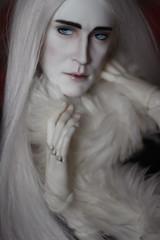 Elven DIVA King (nebuloid) Tags: white makeup elf bjd hobbit thranduil