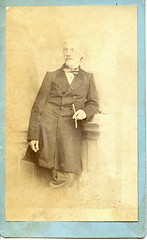 Portrait of a smoking man (elinor04 thanks for 25,000,000+ views!) Tags: old portrait man vintage photo victorian cigar smoking age cdv cartedevisite smoker 1860s foundphoto holder foundphotos cigaretteholder foundphotographs bygone bygoneage elinorsvintagephotocollection