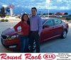 Congratulations to Selene Cruz Lara & Jacob Rodriguez on your #Kia #Optima purchase from Ruth Largaespada at Round Rock Kia! #NewCar