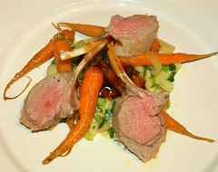 Lamb Cutlets with Sweet Carrot (Tony Worrall) Tags: uk england food make menu yummy nice dish photos tag cook tasty plate eaten things images x meat made eat foodporn add meal lamb taste dishes cooked tasted grub iatethis foodie flavour plated foodpictures ingrediants picturesoffood photograff foodophile 2014tonyworrall