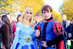 Prince Philip and Princess Aurora (Leledraw) Tags: park pink blue boy sleeping male beauty fauna pose comics photo costume flora doll dress princess tales cosplay good character version dream evil prince games lucca disney cast fantasy aurora hero sword dreamy trio cosplayer fairies charming limited edition philip themepark sleepingbeauty photoset pinkdress disneyprincess maleficent 2014 princephilip disneycharacter briarrose princessaurora castmember merryweather disneypark facecharacter disneyprince threegoodfairies disneycosplay cosplayphoto disneyhero disneyprincesscosplay