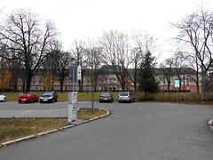 1954/55 Brandenburg/H. Sonderschule des Zentralkomitees (ZK) der Sozialistischen Einheitspartei Deutschlands (SED) von O. Richter/H. Mebes/D. Just Gertrud-Piter-Platz 11 in 14772 (Bergfels) Tags: 1954 just ddr richter sed mebes beschriftet zk 1950er 14772 195455 djust sonderschule brandenburgh zentralkomitee zkdersed bergfels sozialistischeeinheitsparteideutschlands 20jh architekturführer orichter hmebes gertrudpiterplatz neuenutzung