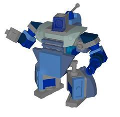 Anto (aurlaent) Tags: lego mecha mech moc microscale mechaton mfz mf0 mobileframezero buf3d