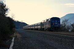 Metro North #206 (grumpyff) Tags: railroad travel train river coach steel 206 rail railway transportation commute commuter hudson genesis ge metronorth generalelectric bombardier breakneckridge p32acdm