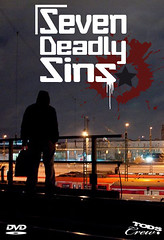 Cover Front SEVEN DEADLY SINS dvd 2014 (Mr.More ART) Tags: graffiti cops seven dsseldorf tods sins deadly taggs trainwriting mrmore