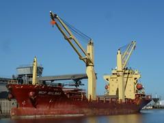 MCP Bilbao - Grands puits - 27 octobre 2014 (Stphane NIGEON) Tags: port harbour vessel cargo bateau merchant saintnazaire cargoship navire