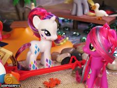 Rainbow Power Neon 3 (DerpyDerp910) Tags: vacation beach pie toy toys princess little holly luna pony dash pinkie playmobil hasbro mlp mylittlepony rarity hooves celestia derpy my brony cheerilee derpyderp910