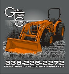 "Graham Tractor Company - Graham, NC • <a style=""font-size:0.8em;"" href=""http://www.flickr.com/photos/39998102@N07/15987619080/"" target=""_blank"">View on Flickr</a>"