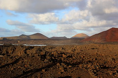 Lanzascape (beatraxa) Tags: mountains landscape volcano lava lanzarote canarias atlantic volcanic canaries archipelago winterlight