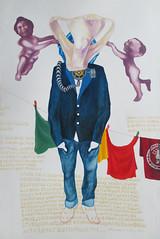 I Pagpapala (Sampayan ng Glorya) (MARCO RUBEN MALTO II 2014) Tags: history college university gallery fiesta martial abby ruben mary philippines fine arts gloria mercado ii seven mao marco law ng diliman cory arroyo tse siete aquino tung 2014 estaciones puso sorrows saging malto ilustrado kasaysayan virina pitong kabanatasa atinglipi karimlan