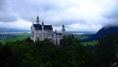 Neuschwanstein / Baviera (8) / Alemania (Ull màgic (+1.250.000 views)) Tags: germany tirol fuji natura nubes alemania neuschwanstein castillo bosc castell füssen núvols baviera xt1