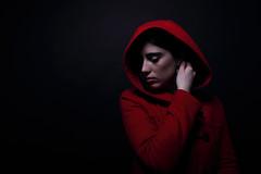 Studio Portrait (guido.masi) Tags: portrait woman canon studio eos florence donna firenze rosso visiva 550d guidomasi httpswwwfacebookcomvisivafirenze