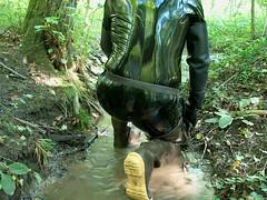 IM006587 (hymerwaders) Tags: mud boots hip waders pvc lack schlamm watstiefel