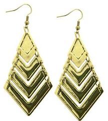 5th Avenue Brass Earrings P5030-1