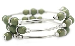 Glimpse of Malibu Green Bracelet P9431A-4