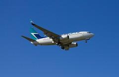 Boeing | 737-700 | WestJet | 231 | C-FXWJ | Winnipeg | CYWG (dfm8492) Tags: winnipeg boeing 700 westjet spotting 737 737700 ywg cywg cfxwj