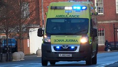 West Midlands Ambulance Service [4051] | Emergency Ambulance | Peugeot Boxer | YJ60 HAE (CobraEmergencyPhotos) Tags: lighting uk west lights blues ambulance system boxer service emergency els peugeot midlands 999 sirens hae wmas westmidlandsambulanceservice yj60 cobraemergencyphotos