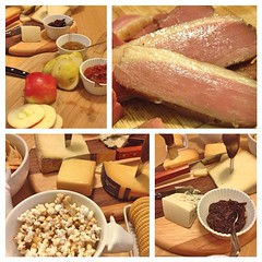 "Snack dinner becomes legendary when your local butcher shop has their own smoked local duck breast cooling on the counter when you stop in. This is amazing and we're enjoying every single bite!   @mainemeat  #eatlocal • <a style=""font-size:0.8em;"" href=""http://www.flickr.com/photos/54958436@N05/16312095052/"" target=""_blank"">View on Flickr</a>"