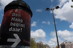 Den Haag-10 (Nickz3) Tags: denhaag lente zon stad 2016 zonnig reclamezuil denhaagbegintdaar