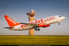 CDG.2009 # U2 B737 G-EZKF awp (CHR / AeroWorldpictures Team) Tags: sunset paris france history plane u2 cabin nikon with aircraft flight first airline planes boeing takeoff reg lr easyjet aircrafts cdg lightroom eg 2x planespotting config delivered lfpg ezy d80 zoomlenses enj y149 70300vr cfmi 73773v easyjetairline gezkf tsfd enerjet cfm567b20 28apr2011 cgdej cn324271489 07apr2004 22apr2004