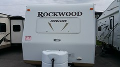 Sold! (JD and Beastlet) Tags: travel family camping camp vacation foot slide together vehicle trailer rv 27 camper 2012 recreational rockwood 2701ss