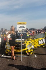 BTCC Weekend at Thruxton, May 2016 (MarkHaggan) Tags: grid track weekend circuit motorracing btcc gridgirls thruxton gridgirl britishtouringcarchampionship btcc2016 08may2016 08may16