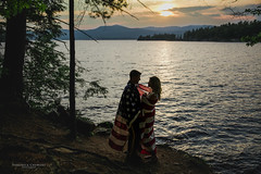 _CHW8297-wm (vchewens) Tags: sunset love americanflag lakegeorge adirondack memorialday