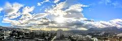 PANO_20151012_073710 (Yassine Abbadi) Tags: road sky panorama cloud sun grass car sunrise buildings river rainbow mosque ufo morocco maroc medina reflexion favela hdr kasbah tetuan tetouan