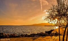 Posta de sol al Molinar (CatiPerell) Tags: atardecer mar mallorca palma majorca baleares palmademallorca balearicislands balearic balears illesbalears capvespre islasbaleares horabaixa esmolinar