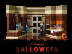 Halloween (Sad Brick) Tags: halloween lego carpenter moc