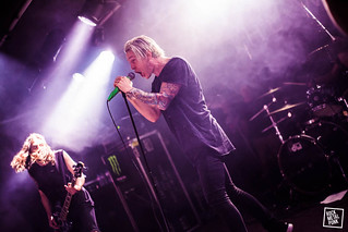 12.05.16 // The Word Alive at Trix, Antwerp // Shot by Nikki Lucy
