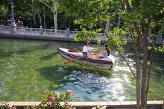 Gracias! (HDH.Lucas) Tags: park people boat spain seville lucas
