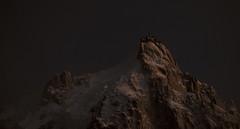 DSCF3657 (Lorenzo Quattrini) Tags: mountain snow night neve chamonix montagna montblanc montebianco aiguilledumidi aiguille