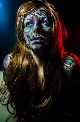 Tallows 10 (Jef Harris) Tags: portrait colorful patterns ottawa makeup muse mua homestudio creativemakeup ottawamodel