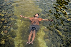 Relaxing into water on sunny hot day! (ashik mahmud 1847) Tags: boy hot water relax lifestyle dailylife nikkor bangladesh d5100