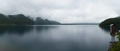 IMG_4697-Pano20160605 (Zac Li Kao) Tags: mountain lake water japan canon fuji hiking hike powershot climbing fujisan g1x