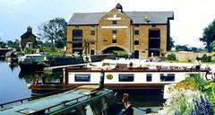 Slide 060-21 (Steve Guess) Tags: uk england museum canal lock pegasus derbyshire basin trent gb narrowboat mersey