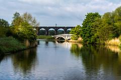 Dutton Horse bridge (Si Bart) Tags: bridge river railway viaduct weaver dutton hourse