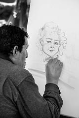 Sin ttulo (Eduardo Valero Suardiaz) Tags: madrid park parque girl painting drawing nia retiro pintor caricatura pintar seor dibujar