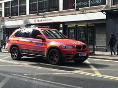 Met Police BMW X5 ARV (slinkierbus268) Tags: red london group central police bmw vehicle met protection metropolitan dpg response armed diplomatic x5 arv armedresponseunit