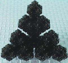 """Partial Travis fractal 4 (Parker Square fractal) (Deus """"Big D."""" Otiosus) Tags: pattern lego geometry infinity math fractal mathematical maths moc"""