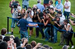 Presentacin Zapater (14 de 33) (Fernando Soguero) Tags: nikon soccer sigma zaragoza futbol realzaragoza d5000 fernandosoguero fsoguero feranndosoguero