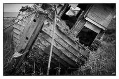 Decay (mag1964miller) Tags: leica m9 zeiss biogon boat rotting decay