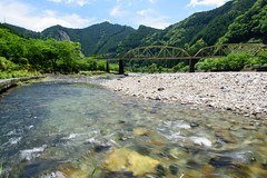 3Shimokitayama (anglo10) Tags: bridge river